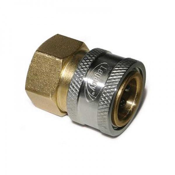 """Coupler 3/8""""socket, Female, Brass"""