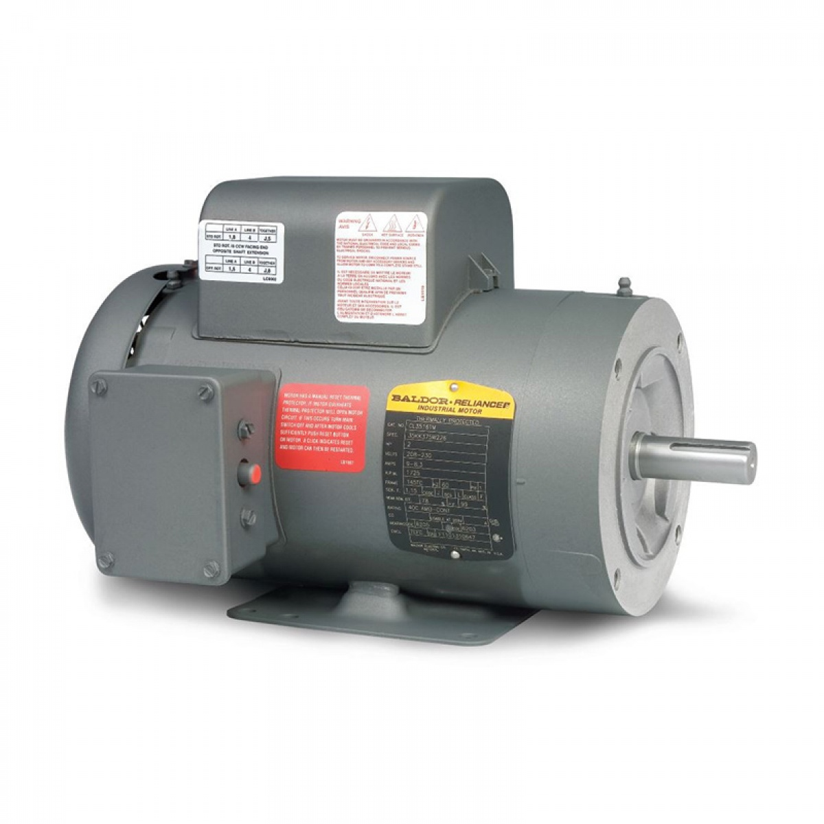 Elect. Mtr 1.5hp/56c/1750/ip T